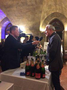 Gioacchino Bonsignore del TG5 Gusto Intervista Roberto Beneventano della Corte